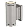 Schrack Technik NEW MYRA UP/DOWN lámpatest,ezüstszürke,2xGU10,2x35W,IP55