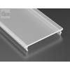 Opál takaróprofil Széles Led profilokhoz 2 méteres