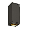 Schrack Technik THEO WALL OUT fali lámpa, GU10, max.35W, szögletes, antracit