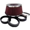 Direktszűrő, adapteres, 155x65xØ60/63,5/70/77mm
