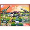 Dinoszauruszos puzzle, 3D