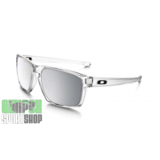 OAKLEY Sliver Matte Clear Chrome Iridium