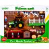 Farm szett - Mezőgazdasági készlet traktorral és figurákkal