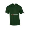Gildan férfi póló (Forestgreen)