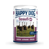 Happy Dog Strauß Pur - Strucc húsos konzerv 6 x 400 g