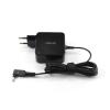 Asus Zenbook UX21E 3.0*1.00mm 19V 2.37A 45W fekete notebook/laptop hálózati töltő/adapter gyári