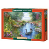 Castorland puzzle, Andres Orpinas: Fekete hattyúk, 1500 darab (5904438151042)