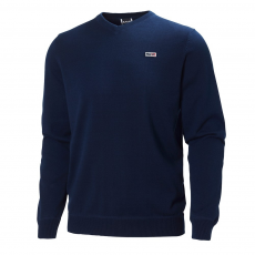 Helly Hansen Marstrand V-Neck Sweater Pulóver D (51591-o_598-Navy)