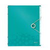 Leitz Divider book: 6 tabs PP Leitz WOW  turquoise 4002432106233
