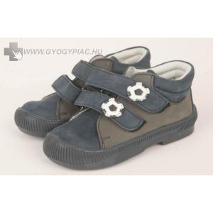 Dr HU szupinációs cipő tépőzáras, kék-szürke