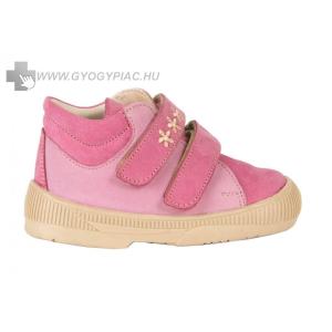 Dr HU szupinációs cipő tépőzáras, rózsaszín