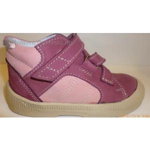 Dr HU szupinációs cipő tépőzáras, rózsaszín-bézs