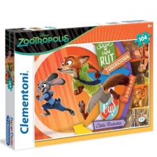 Zootropolis puzzle 104db-os puzzle, kirakós