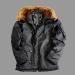 Alpha Industries Explorer - replica szürke kabát