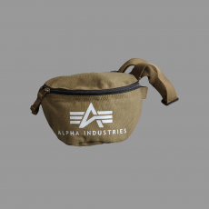 Alpha Industries Big A Canvas Waist Bag - olive