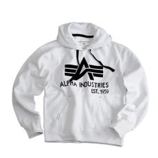 Alpha Industries Big A Classic Hoody - fehér pulóver