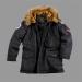 Alpha Industries Polar Jacket Kids - fekete