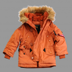 Alpha Industries Kids Explorer - narancs