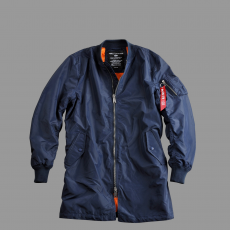 Alpha Industries MA-1 TT Coat - replica blue