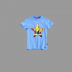 Alpha Industries Kids Basic T Print 11 - kék
