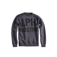 Alpha Industries All Over Sweater - szürkés fekete