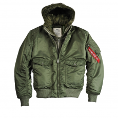 Alpha Industries MA-1 D-Tec VF - sage green