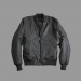 Alpha Industries MA-1 VF Reflective - fekete