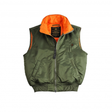 Alpha Industries MA-1 Vest - sage green