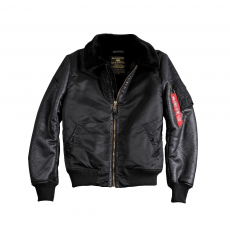 Alpha Industries B3 M - fekete