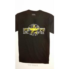 Alpha Industries USAF T - fekete
