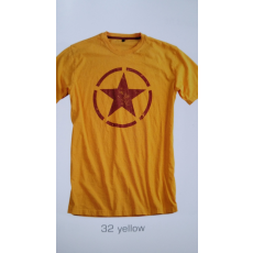 Alpha Industries Star T - sárga