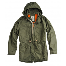 Alpha Industries Light Weight Fishtail - olive