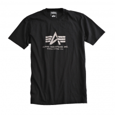 Alpha Industries Inside Out Logo T - fekete