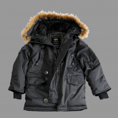 Alpha Industries Kids Explorer - replica szürke