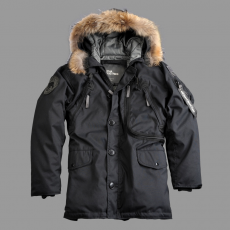 Alpha Industries Polar Jacket Down RF - fekete