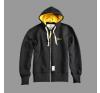 Alpha Industries Easy Zip Hoody - fekete férfi pulóver, kardigán
