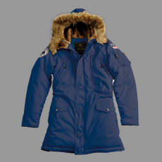 Alpha Industries Polar Jacket Női - replica blue