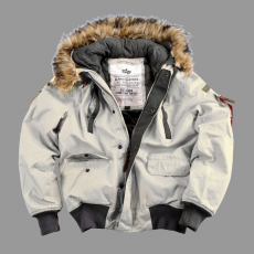 Alpha Industries Mountain Jacket - off white