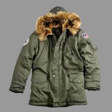 Alpha Industries Polar Jacket - sötét zöld