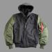 Alpha Industries MA-1 D-Tec Wool - sage green