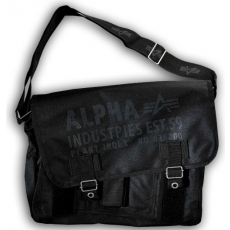 Alpha Industries Cargo Oxford Courier Bag - fekete
