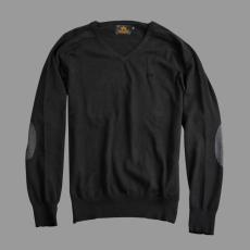 Alpha Industries V-Neck Knit - fekete