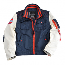 Alpha Industries MC Club Jacket - replica blue / bone