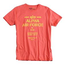 Alpha Industries Air Base T - spicy red póló