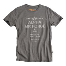 Alpha Industries Air Base T - greyblack póló