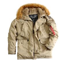 Alpha Industries Explorer Női - khaki színű kabát