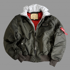 Alpha Industries MA-1 D-Tec - replica szürke