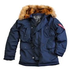 Alpha Industries Explorer - replica blue kabát