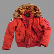 Alpha Industries Polar Jacket SV - piros