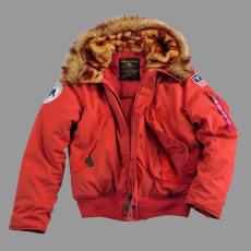 Alpha Industries Polar Jacket SV - piros